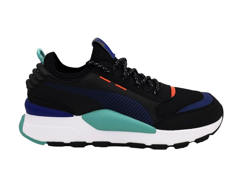 US $110.69 |PUMA RS 0 TRAIL SNEAKERS Black Blue Orange White 371829 03 (44  black)|Sneaker Accessories| - AliExpress