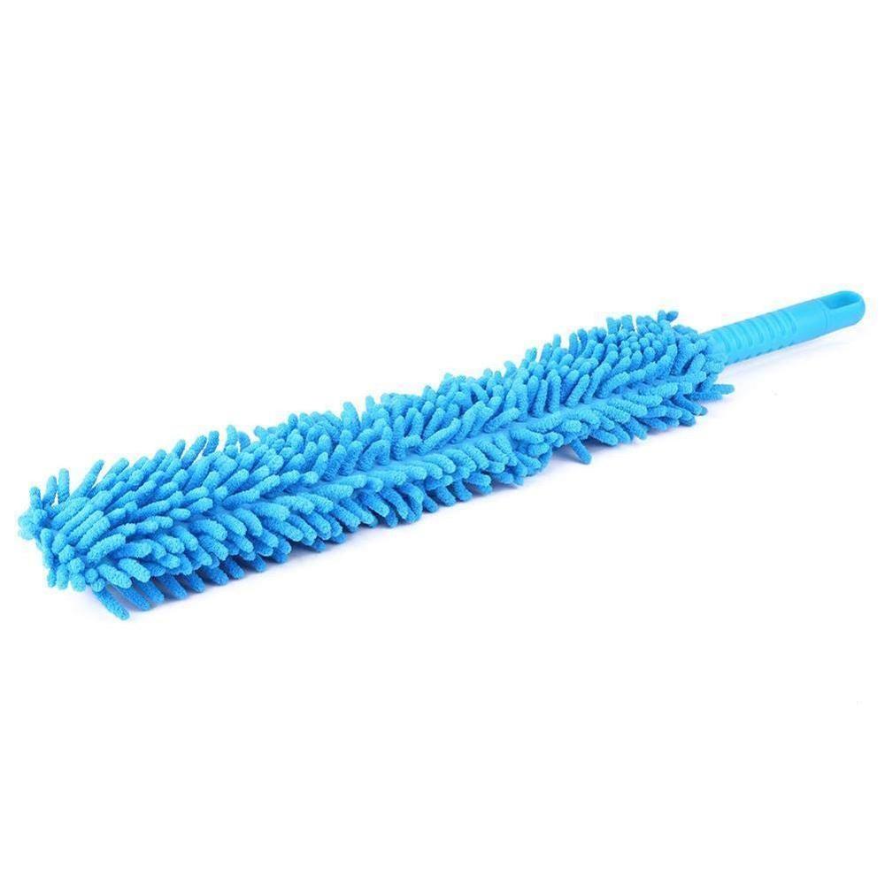 Flexible Extra Long Soft Microfiber Chenille Car Wheel Wash Brush Microfiber Wheel Cleaner Car Wash Accessorie