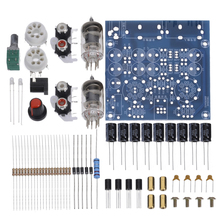 1pc DIY Tube Amplifier Audio Board 2.0 Channel AC12V 0.8 A Pre-Amp Audio Mixer 6J1 Valve Bile Buffer Amplifiers DIY Kit 1pc tube amplifier audio boards high quality 2 0 channel pre amp audio mixer 6j1 valve bile buffer amplifier audio board diy kit