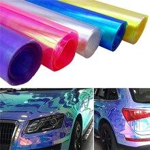 30X60CM רכב סטיילינג זיקית פנס טאיליט גוון רכב מדבקת אור סרט להגן לעטוף רכב אור אביזרים