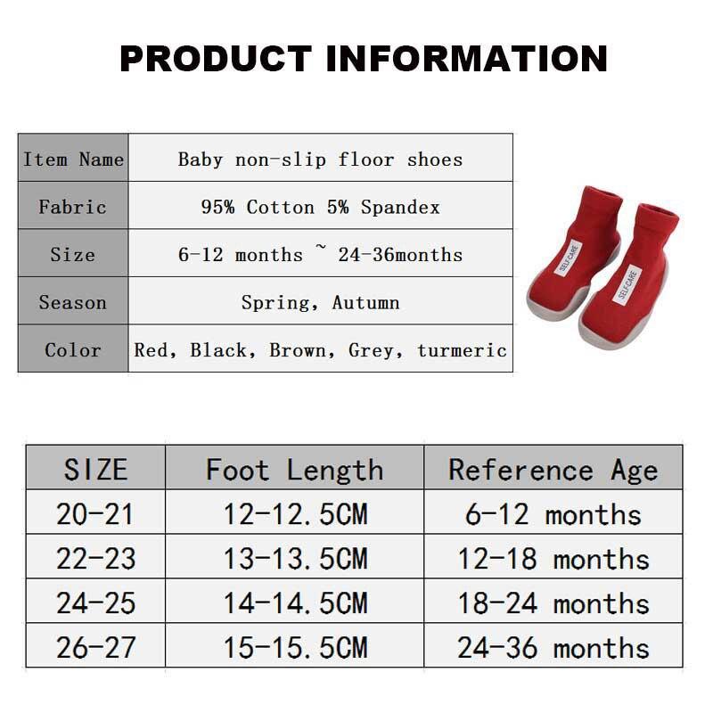 Baby Boy Sock Shoes For Kids Socks Toddler Newborn Boys Short Infant Non-slip Slippers Children's Girl Warm Protector Kid Winter 6
