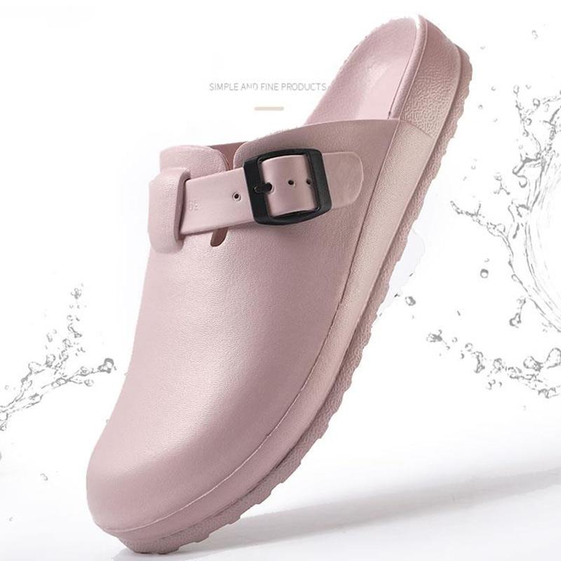Hospital Medical Slipper Women Doctor Nurse Clogs Doctor Medical Shoes Nursing Clogs EVA Non-slip Shoes Specialist Work Slippers