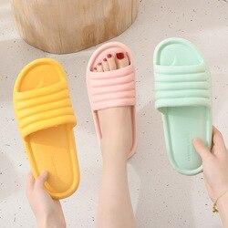 Summer Women Indoor Slippers Floor Flat Shoes Indoor Eva Flip Flops Female Non-slip Bathroom Home Slippers Zapatillas De Hombre
