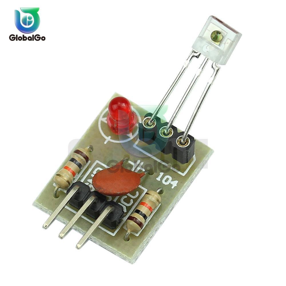 Модуль лазерного датчика без модулятора, трубчатый модуль лазерного приемника «сделай сам» для arduino