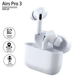 New Wireless Earphones Bluetooth 5.0 Headphone For Airpodering Tws Pro HIFI Sound Headset Sports Headphones for Phone Air pro 3
