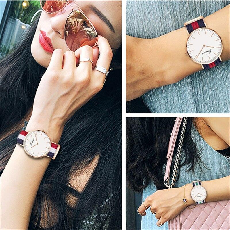 Casual Women's Watches Simple Thin Fashion Women Watch Luxury Quartz Wristwatch Ladies Clock Gift Relogio Feminino Reloj Mujer 3