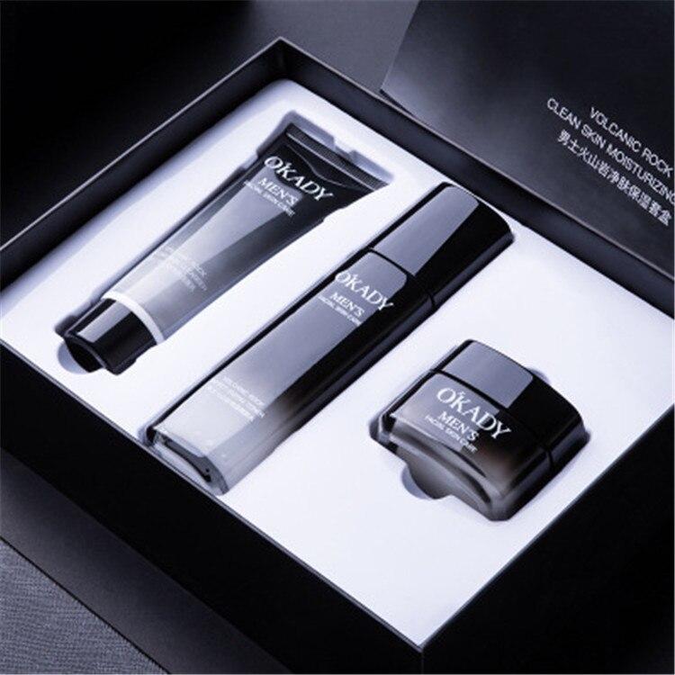 Hot Sale Mens Gift Set Facial Skin Care Set Men's Skin Care Products Oil Control Moisturizing Whitening Mens Skin Care Set
