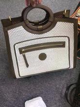 Брендовая дизайнерская Высококачественная кожаная сумочка, популярная Вместительная женская сумка