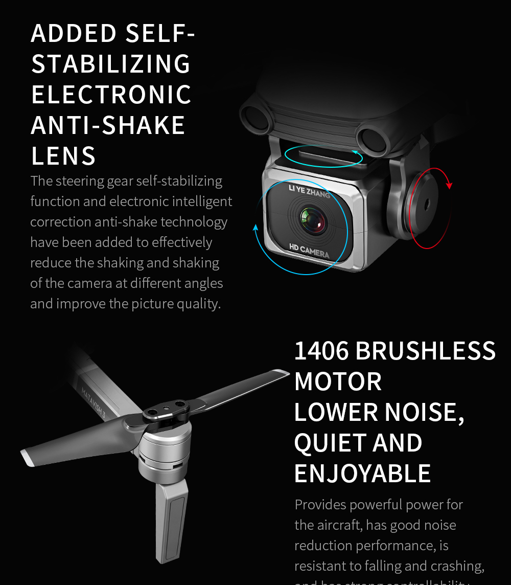 Rc Quadcopter L109 Drone Gps 4K Hd Camera 5G Wifi Fpv Borstelloze Motor Opvouwbare Selfie Drones Professionele 1000 M Lange Afstand - 2