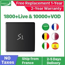 IPTV France Spain Arabic IPTV subscription Leadcool S1 Android 8.1 2+16G RK3229 1 Year QHDTV IPTV French Belgium Netherlands leadcool pro qhdtv plus iptv france arabic italy canada android 8 1 1 8g 2 16g iptv france arabic italy spain canada qhdtv plus