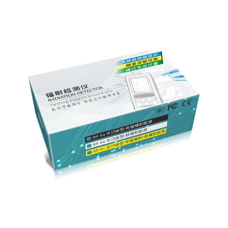Geiger contador detector de radiação nuclear lcd