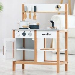 Nunukids Kinderen Speelhuis Model Keuken Speelgoed Set 3-6 een Jaar MEISJE En JONGEN Baby Kok speelgoed
