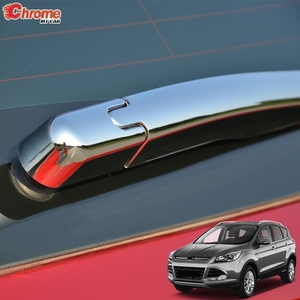 For Ford Escape Kuga 2013 2014 2015 2016 2017 2018 2019 Chrome Rear Window Wiper Arm Blade Cover Trim Molding Overlay Decoration(China)