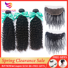 Kinky Curly Bundles With Frontal Closure Brazilian Hair Weave Bundles With Closure Non-Remy Human Hair Bundles With Closure pinshair hair red bundles with closure burgundy 99j brazilian kinky curly human hair 3 bundles with closure non remy red bundles
