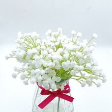 2 Bunch Artificial Baby Breath Flowers Fake Gypsophila Bouquets Wedding Home Party DIY Decor Gift