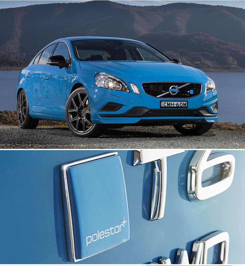 3D автомобиля Стикеры Polestar эмблема значок Логотип Автомобильная эмблема багажник Стикеры для VOLVO S60 V60 S80 XC60 XC90 XC70 V40 S40 V70