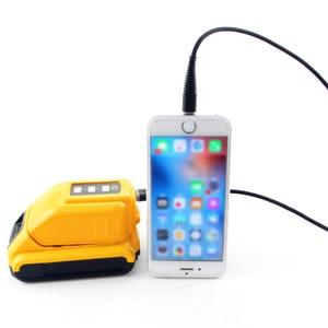 Image 2 - USB Chuyển Đổi Sạc Dành Cho 12V18V20V Pin Li Ion Bộ Chuyển Đổi Thay Thế DCB090 DCB091 Bộ Adapter Sạc USB Cung Cấp Điện