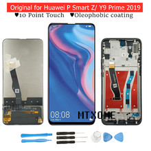 Originele Voor Huawei P Smart Z/ Y9 Prime 2019 Lcd Touch Screen Digitizer Vergadering Lcd Display Touchscreen Reparatie onderdelen(China)