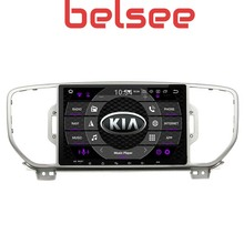 Belsee For KIA Sportage 2016 2017 2018 Android 9.0 Octa Core Ram 4+64G Head Unit Auto Radio Multimedia Player 2Din DVD GPS Navi