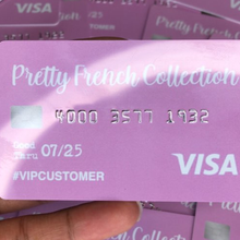 Cartes VIP personnalisées avec votre logo, cartes cadeaux de membre, impression de cartes de crédit personnalisées avec numéros en relief