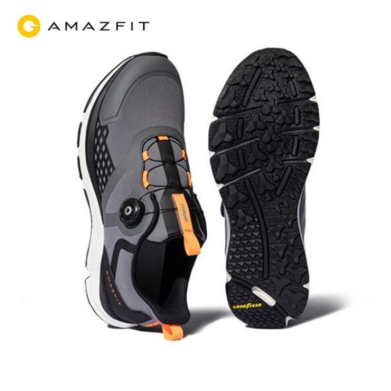 Легкая обувь Xiaomi Amazfit Antelope 2 нескользящая амортизирующая стелька для спорта на открытом воздухе кроссовки с поддержкой смарт чипа pk Mijia 4|Смарт-гаджеты|   | АлиЭкспресс