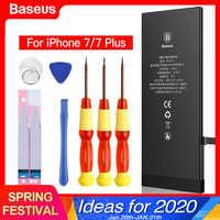Para iphone 7 mais 7 mais bateria baseus bateria do telefone móvel bateria de alta capacidade batterie substituição original para iphone7 7p