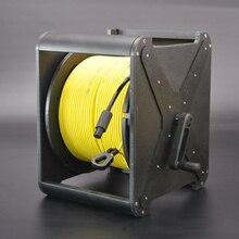 كابل طفو صفر من ROVMAKER مع رأس ذكري 2 core كابل الحبل السري الروبوت تحت الماء مع موصل عازل للمياه 2x26AWG