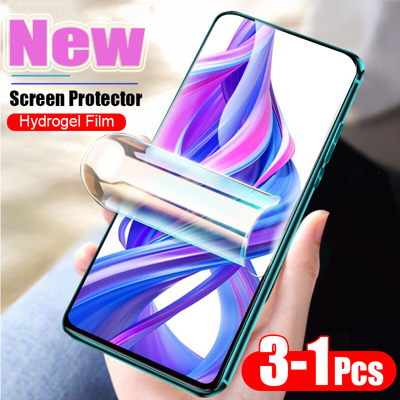 New Screen Protector Hydrogel Film For <font><b>Huawei</b></font> P30 P20 <font><b>Pro</b></font> lite <font><b>Mate</b></font> 20Lite Protective Film For <font><b>Huawei</b></font> <font><b>Mate</b></font> <font><b>20</b></font> <font><b>Pro</b></font> Film Not <font><b>Glass</b></font> image