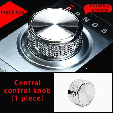 For Jaguar XE xel Central control knob molding trim  1pc|Chromium Styling| |  - title=