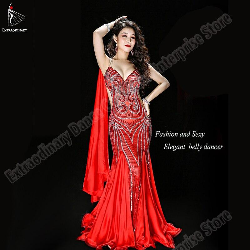 Oriental Dance Costumes Women Belly Dance Skirt Long Sexy Outfits Carnaval Bellydance Dress Adjustable Elegant Skirt Clothes