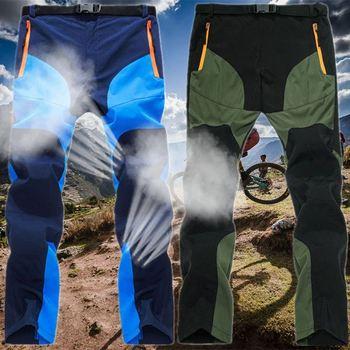 Spodnie do wędrówek pieszych męskie letnie szybkie suche łączenie na zewnątrz spodnie sportowe górskie Trekking Camping wspinaczka spodnie wędkarskie GCC007 tanie i dobre opinie Sznurek COTTON Poliester Pełnej długości Camping i piesze wycieczki Pasuje prawda na wymiar weź swój normalny rozmiar