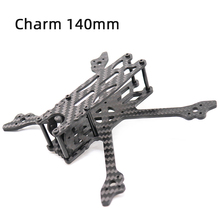 TCMMRC FPV Drone Frame Charm 140 140mm 3 Inch Wheelbase 3mm Arm 3K Carbon Fiber Frame Kit for RC Drone FPV Racing smart 100mm carbon fiber frame kit micro fpv for diy rc racing quadcopter drone f19336