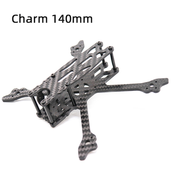 TCMMRC FPV Drone Frame Charm 140 140mm 3 Inch Wheelbase 3mm Arm 3K Carbon Fiber Frame Kit for RC Drone FPV Racing alien fpv 7 inch 5 inch pure carbon fiber 300mm 225mm quadcopter mini drone frame kit