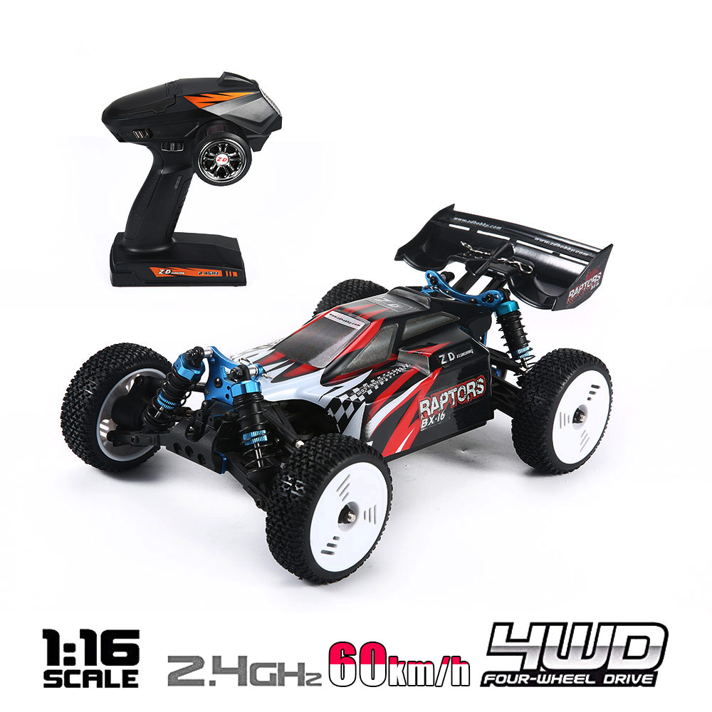 RC Car High Speed 60KM/H 1:16 Racing Climbing Car 2.4G Remote Control Toy Cars On The Radio Controlled 4x4 Drive Off Road Toys