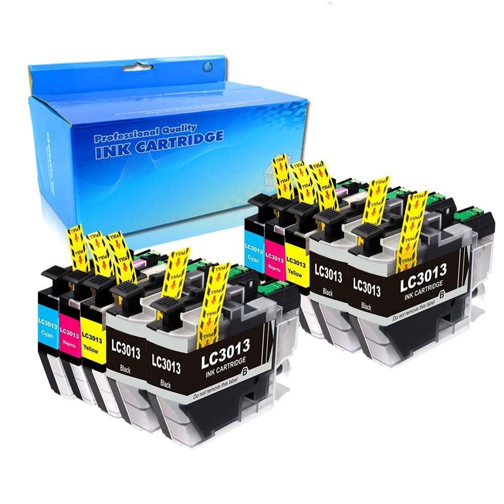 10PK 用互換 LC3013 インクカートリッジブラザー MFC J491DW MFC J497DW J690DW J895DW -