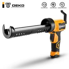 DEKO автоматический Электрический клеевой пистолет термоплавкий Многофункциональный Электрический Клей под давлением для шитья швов герметик водонепроницаемый клей