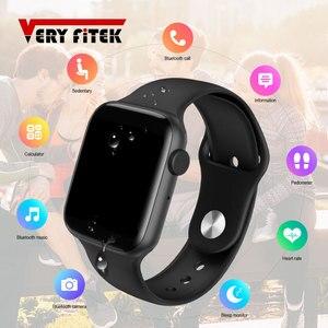 VERYFiTEK AW5 полный сенсорный экран Смарт часы циферблат Ответ Вызов фитнес-трекер IP67 ЭКГ монитор сердечного ритма Мужские Женские умные часы