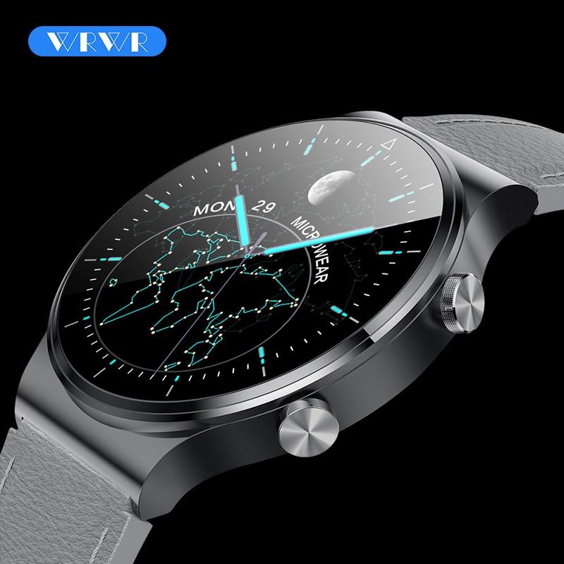Смарт-часы WRWR 2021 мужские водонепроницаемые с Bluetooth, фитнес-трекером