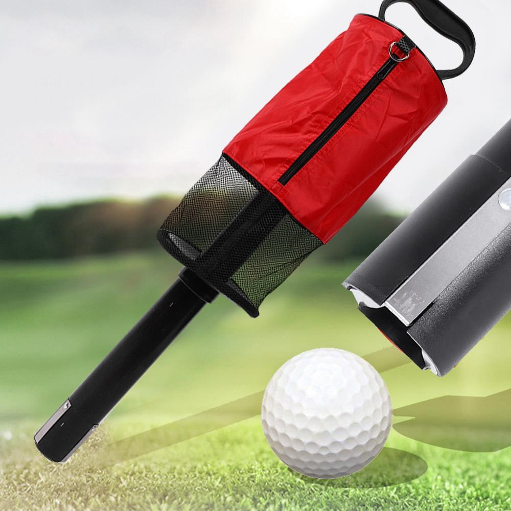 Golf Ball Cylinder Picking Ball Machine Removable Pick-up Barrel Easy Standing Golf Device 30JP07