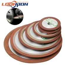 75/80/100/125/150/180/200mm Diamond Grinding Wheel Grinder Circle Disc forfor Tungsten Steel Milling Tool Carbide Metal