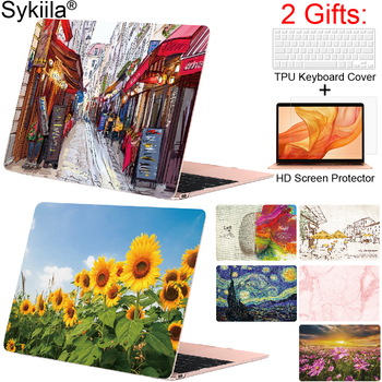Printed Case for Macbook Air 13 Case 11 Pro 13 inch 15 12 Retina Hard Touch World Protective Cover Hard Shell Laptop 2020 Marble seenda hard matte laptop case for apple macbook pro 13 2017 laptop protective cover notebook case for macbook air 13 inch girls