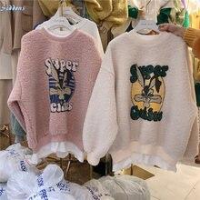 Сиддонс свитер для женщин 2020 с добавлением овечьей шерсти