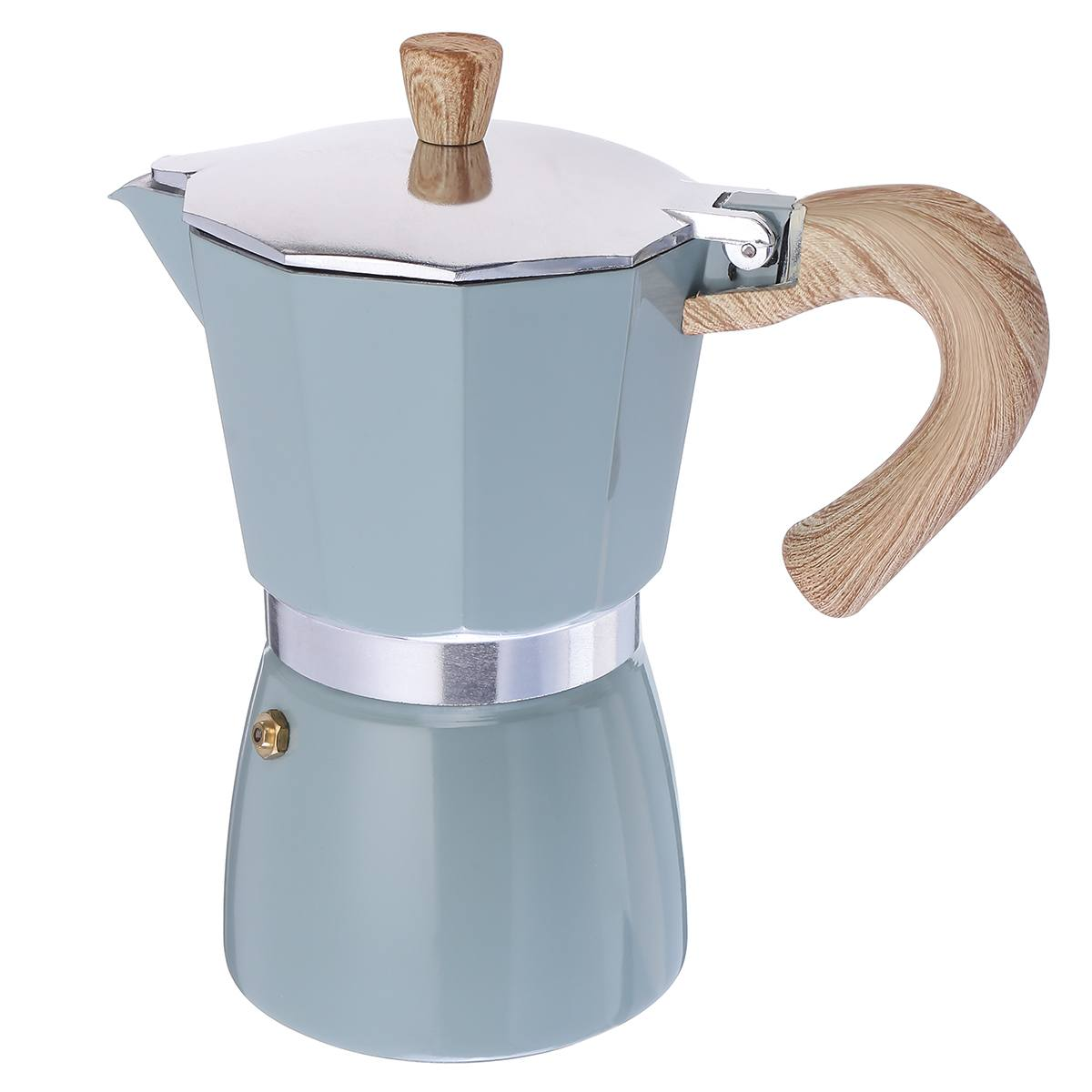 150ml 300ml Coffee Maker Aluminum Mocha Espresso Percolator Pot Coffee Maker Moka Pot Stovetop Coffee Maker
