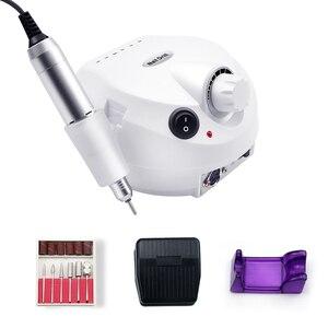Image 3 - Маникюрный и педикюрный аппарат, 35 000/20 000 об/мин, электрическая машинка для маникюра и педикюра, инструмент для обработки ногтей, дрель для ногтей