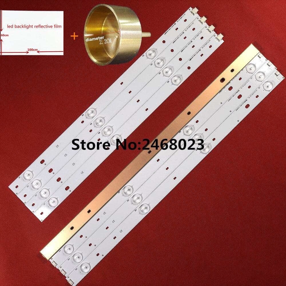 Led Backlight Strips (8) Voor Phi Lippen CL-47-D407-R-V2 CL-47-D407-L-V2 Vervanging Voor CL-47-D407-R-V4 CL-47-D407-L-V4