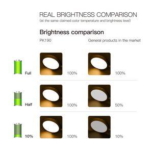 Image 4 - Usb Oplaadbare Led Klem Bureaulamp Zwanenhals Touch Dimmen Clip Op Leeslamp Voor Boek Bed En Computer 3 Kleur modi