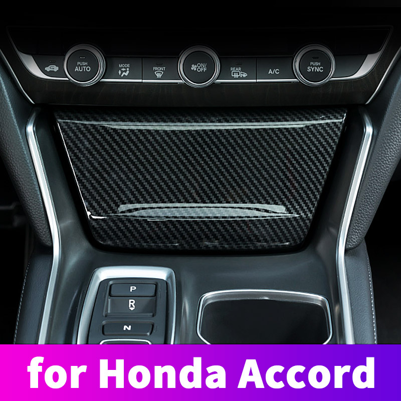 For 10th <font><b>Honda</b></font> <font><b>Accord</b></font> <font><b>2018</b></font> 2019 decorative <font><b>accessories</b></font> Central control cigarette lighter panel flip cover decorative frame cover image