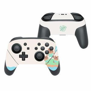 Image 3 - สัตว์ข้ามรูปลอกสติกเกอร์ผิวสำหรับNintendo Switch Pro Controller Gamepad Joypad Nintendo Switch Proสติกเกอร์