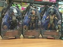 """Neca guardião cobra stalker alienígena vs predador pvc figura de ação collectible modelo brinquedo 7 """"18cm kt2142"""