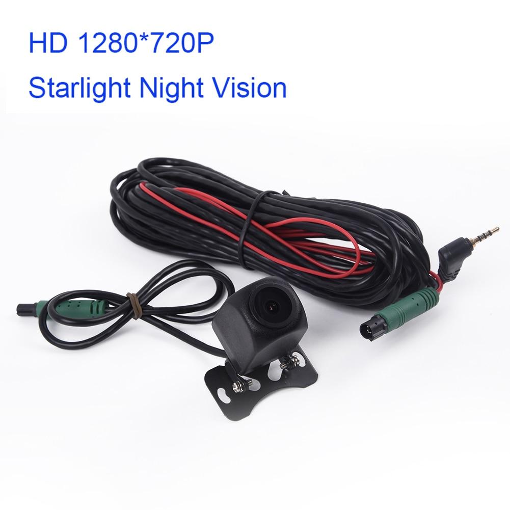 Car Rear View Camera 12V Starlight Night Vision Mirror 1280*720 For Car 5-PIN DVR Recorder Vehicle Reverse Camera